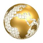 1 world globe 3