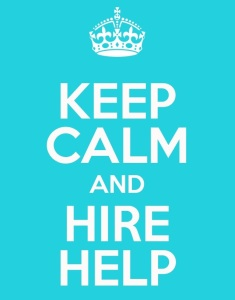 Keep calm and hire help hire an ea hire a va hire admin hire a temp hire a pa freelance london UK